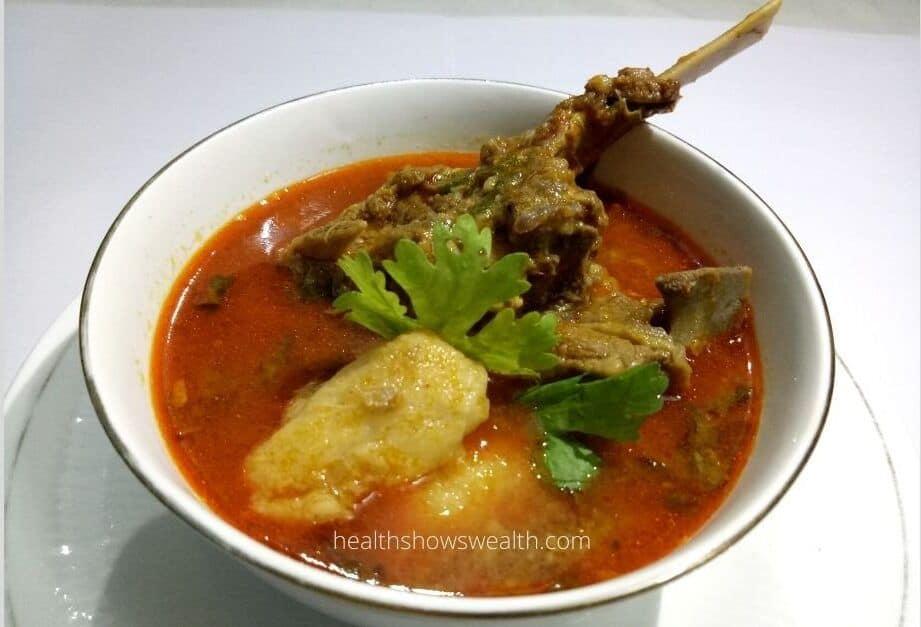 arbi mutton gravy recipe 2